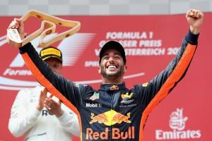 Daniel Ricciardo top Autriche 2017