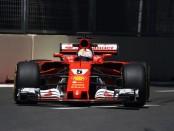 Sebastian Vettel the flop Azerbaïdjan 2017