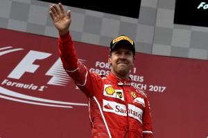 Sebastian Vettel top Autriche 2017