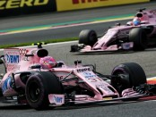 Force India flop Belgique 2017