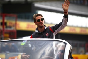 Romain Grosjean top Belgique 2017