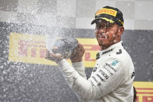 Lewis Hamilton top Belgique 2017