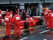 Michael Schumacher Angleterre 1998