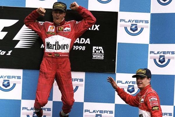 Michael Schumacher Montréal 1998