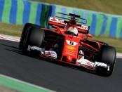 Sebastian Vettel qualification Hongrie 2017