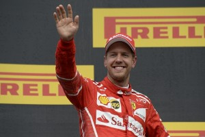 Sebastian Vettel top Belgique 2017
