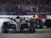 Lewis Hamilton course Singapour 2017