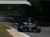 Lewis Hamilton course Italie 2017