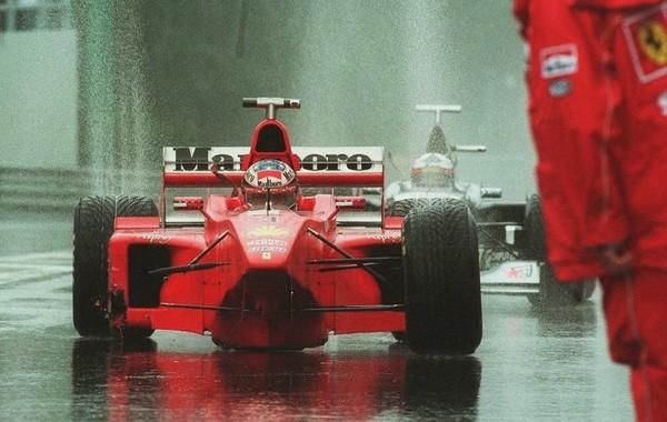Michael Schumacher Belgique 1998