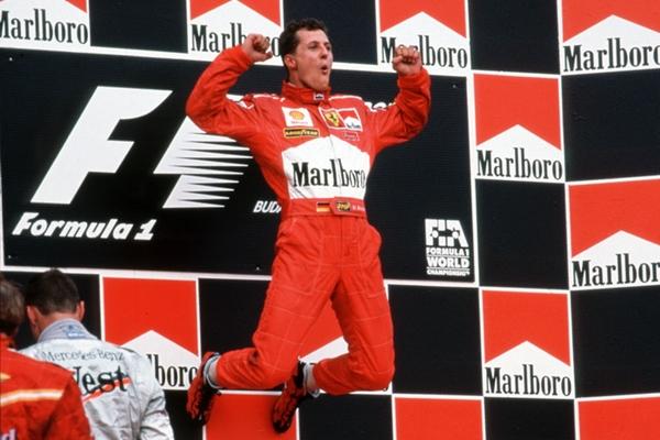 Michael Schumacher Budapest 1998
