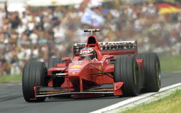 Michael Schumacher Hongrie 1998