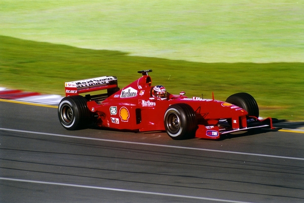 Michael Schumacher Melbourne 1999