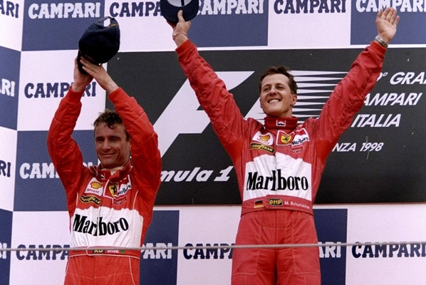 Michael Schumacher Monza 1998