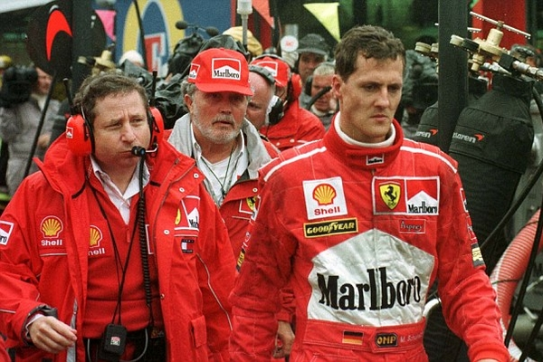 Michael Schumacher Spa 1998