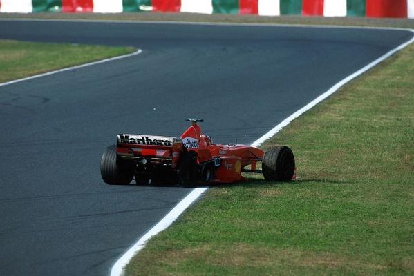 Michael Schumacher Suzuka 1998