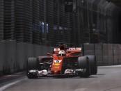 Sebastian Vettel qualification Singapour 2017