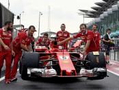 Ferrari the flop Malaisie 2017
