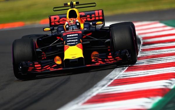 Max Verstappen course Mexique 2017