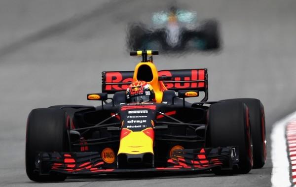 Max Verstappen course Malaisie 2017