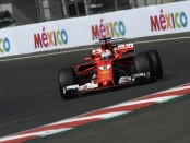 Sebastian Vettel qualification Mexique 2017
