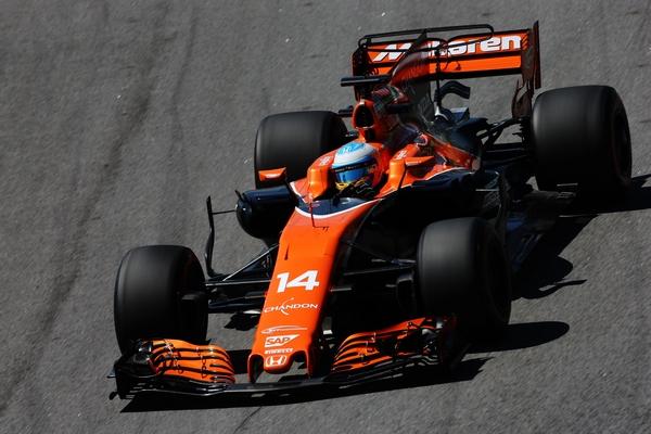 Fernando Alonso qualification Brésil 2017