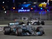 Valtteri Bottas course Abou Dhabi 2017