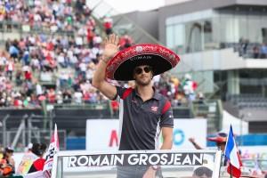 Romain Grosjean flop Mexique 2017