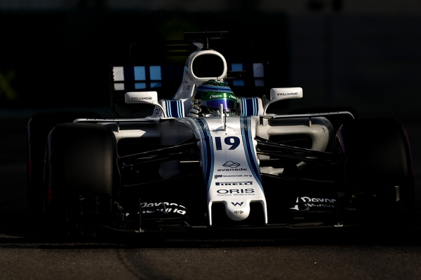 Felipe Massa qualification Abou Dhabi 2017