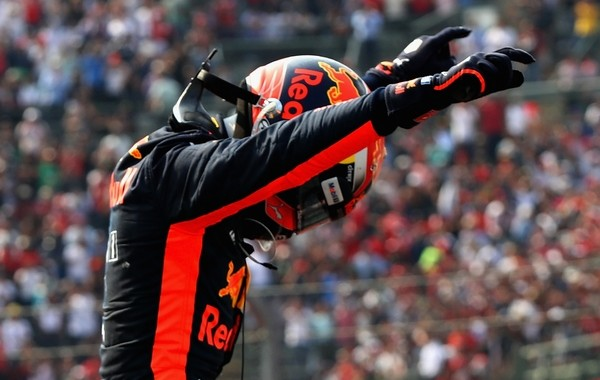 Max Verstappen the top Mexique 2017