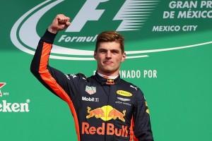 Max Verstappen top Mexique 2017