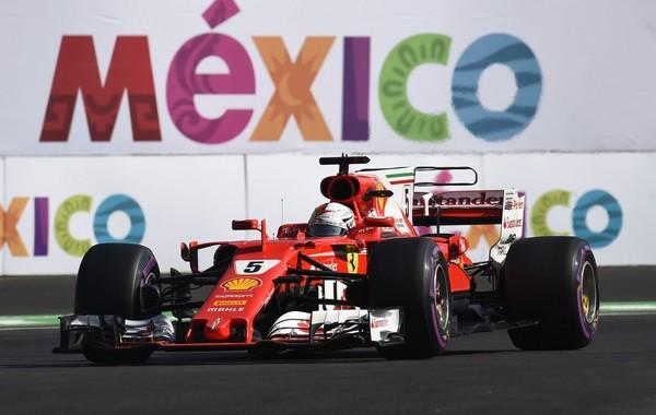 Sebastian Vettel the flop Mexique 2017
