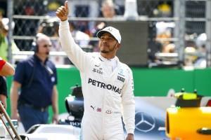 Lewis Hamilton top 2017
