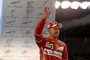 Sebastian Vettel top saison 2017