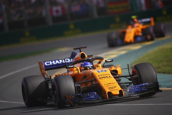 Fernando Alonso course Australie 2018