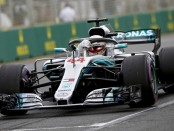 Lewis Hamilton qualification Australie 2018