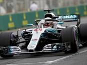 Lewis Hamilton qualification Australie 2018