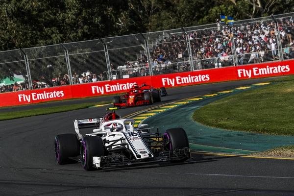 Charles Leclerc course Australie 2018
