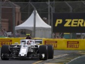 Charles Leclerc qualification Australie 2018