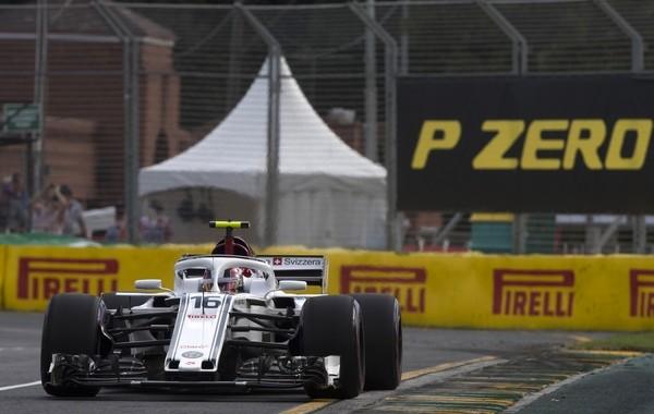 Charles Leclerc qualification Australie 2018