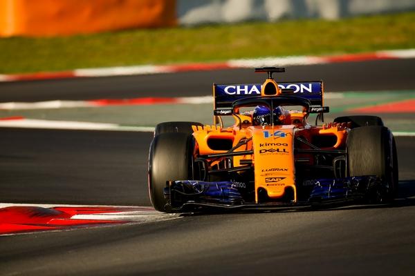McLaren MCL33 Alonso