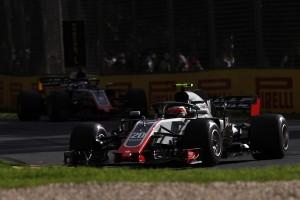 Haas flop Australie 2018