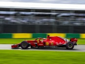 Vettel the top Australie 2018