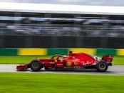 Vettel the top Australie 2018