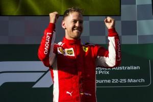 Sebastian Vettel top Australie 2018
