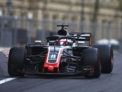 Romain Grosjean the flop Bakou 2018
