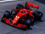 Sebastian Vettel qualification Azerbaijan