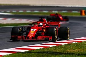 Ferrari flop Espagne 2018