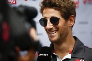 Romain Grosjean flop Espagne 2018