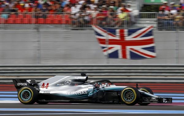 Lewis Hamilton course France 2018