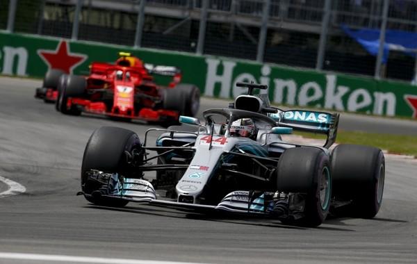 Lewis Hamilton the flop Canada 2018